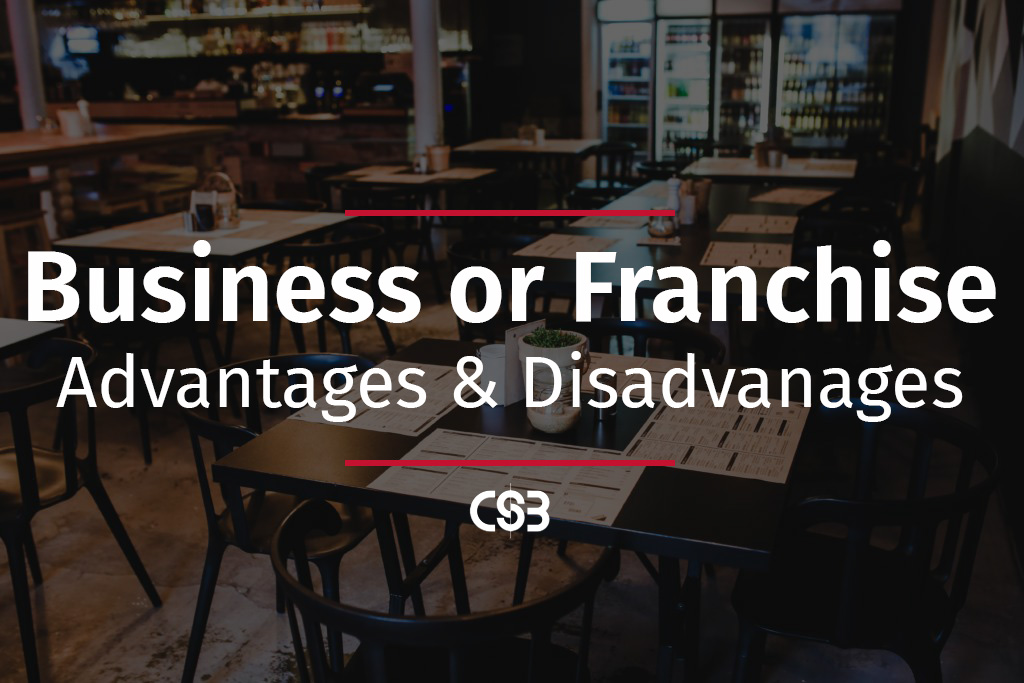 open-a-businesss-of-operate-a-franchise-adv-and-dis-of-each