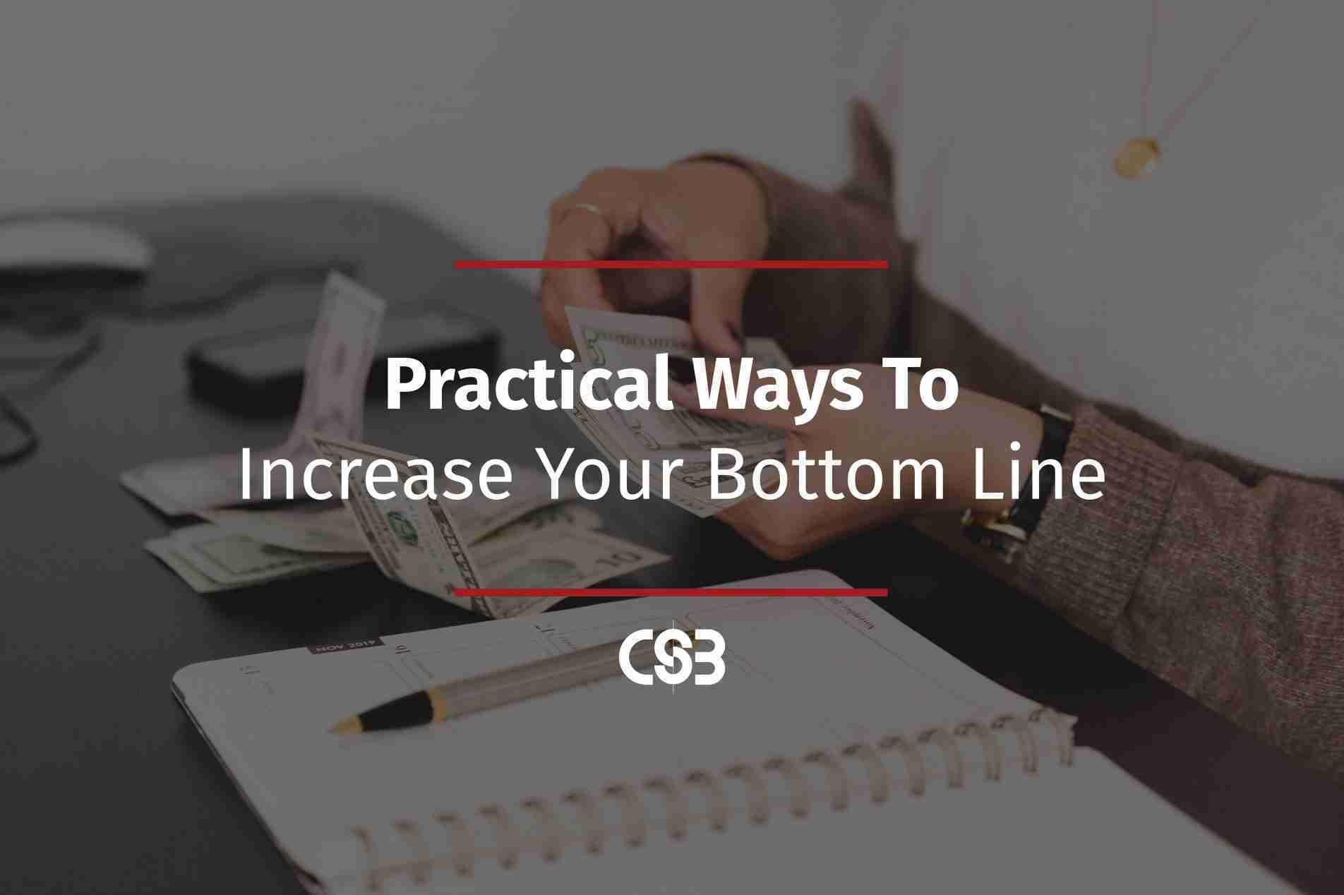 practical-ways-to-increase-your-bottom-line